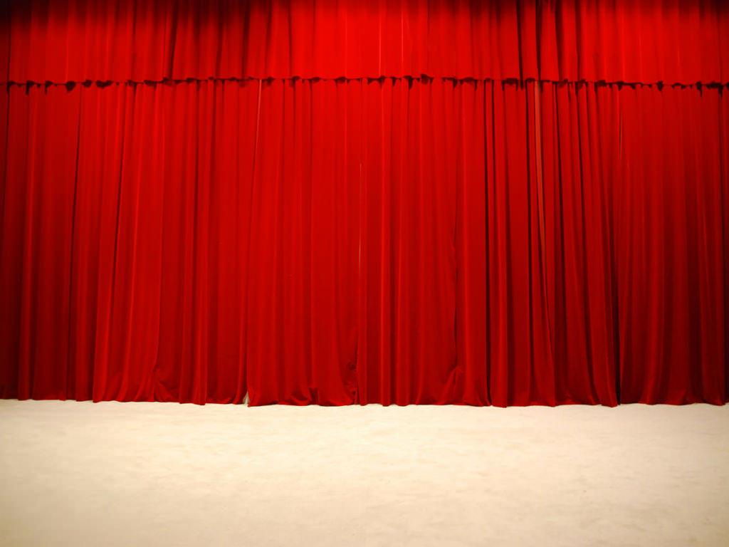 Sipario di un teatro