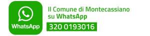 Il Comune di Montecassiano su WhatsApp - 320 0193016