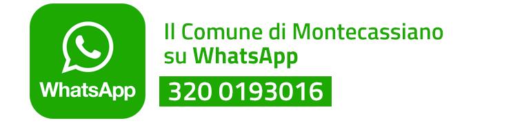 Il Comune su Whatsapp